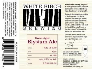 White Birch Elysium