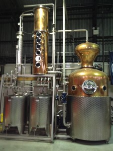 The still at the New York Distilling Company