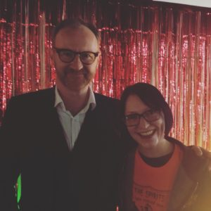 Good mate Mark Gatiss