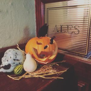 Halloween at L Mulligan Grocer