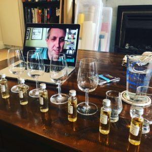 whiskey tastings at home!